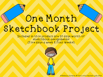 One Month Sketchbook Project