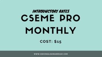 One (1) Month CSEME PRO Membership