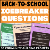 ICEBREAKER QUESTIONS for High School Students   Suitable f