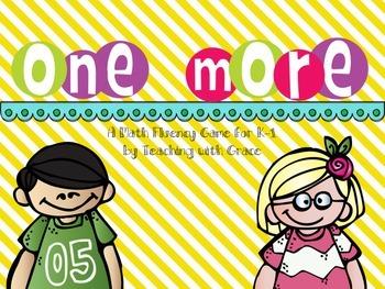One More: Math Game Freebie