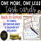 One More, One Less - Back to School Math Center ~ SCOOT