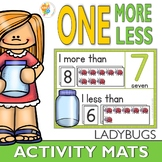 One More One Less Bug Number Activity Mats 1-20