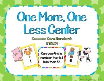One More, One Less Center (Farm Theme)