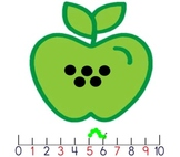 One More One Less --FlipChart Counting Game for Kindergarten Common Core Math