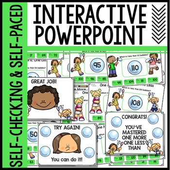One More One Less Interactive Powerpoint