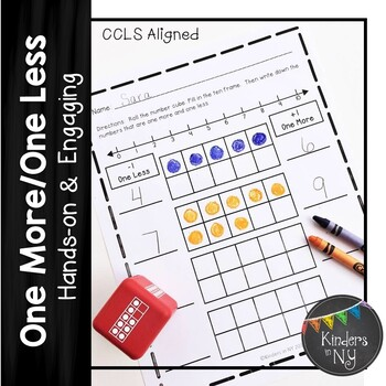 One More/One Less; CCLS Math for K/1
