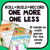 One More One Less Math Centers Year Long Set for Preschool