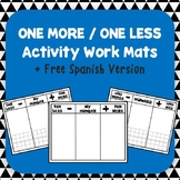 One More - One Less Work Mats +FREE SPANISH VERSION