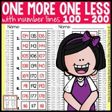 One More One Less Worksheets