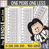 BUNDLE: One More One Less Worksheets