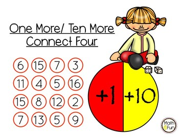 """One More/Ten More - """"Connect Four"""" Games"""