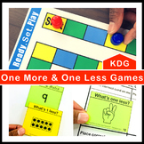 One More and One Less Games and Centers Kindergarten