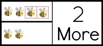 """One More"" and ""Two More""- enVision Math Vocabulary Cards"