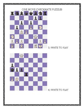 One Move Checkmate Puzzles