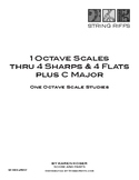 One Octave Major Scale Studies thru 4 Sharps and 4 Flats P