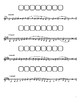 One Octave Scale Sheet (Horn)
