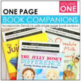 One Page Book Companions- Volume One