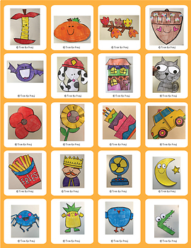One Page Craft Bundle {Pack #3 - Print & Go Crafts + Writing Papers}