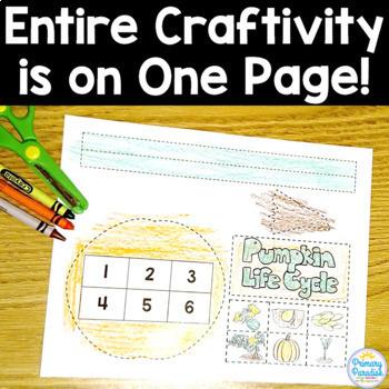 One Page Craftivities: Growing Bundle