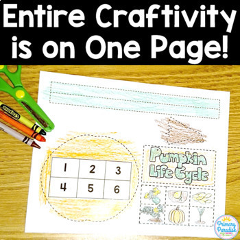 Craftivities One Page: Year Long Bundle