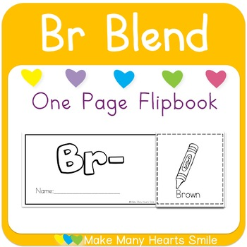 One Page Flip Book: Br Blend