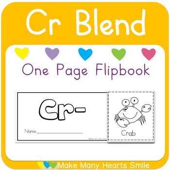 One Page Flip Book: Cr Blend