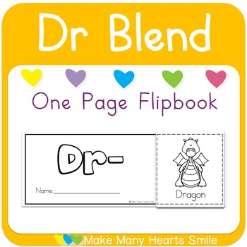 One Page Flip Book: Dr Blend