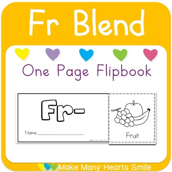 One Page Flip Book: Fr Blend