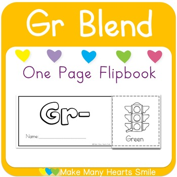 One Page Flip Book: Gr Blend