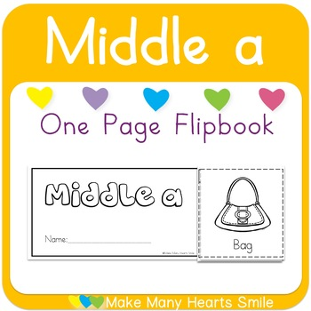 One Page Flip Book: Middle a