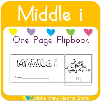 One Page Flip Book: Middle i