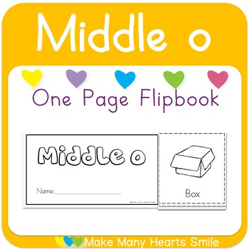 One Page Flip Book: Middle o