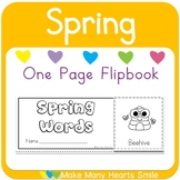One Page Flipbook: Spring MMHS51