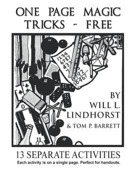 One Page Magic Tricks - Free