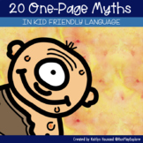 Myths -  One Page Myth Passages from Around the Globe