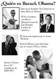 One Page Novice-Low Biographies: Barack Obama