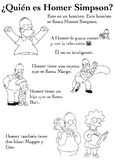 One Page Novice-Low Biographies: Homer Simpson