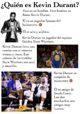 One Page Novice-Low Biographies: Kevin Durant