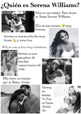 One Page Novice-Low Biographies: Serena Williams