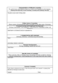 One Page Pre-School and Nursery Report (Editable)