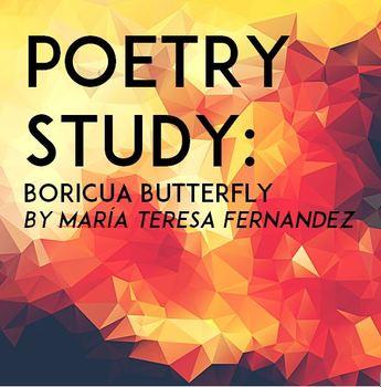 Poetry Study: Boricua Butterfly