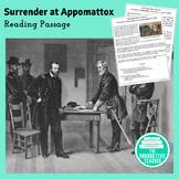 Civil War Reading Passage: Surrender at Appomattox