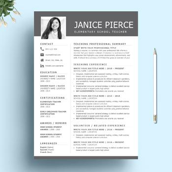 Cover Sheet For Resume Template from ecdn.teacherspayteachers.com