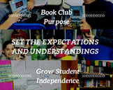 One Pager: Book Discussion Purpose & Procedure