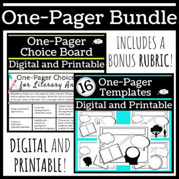 One Pager Bundle