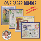 One Pager Bundle for Secondary English