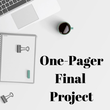 One-Pager Final Project