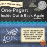 One-Pager: Inside Out Back Again Middle High School Novel