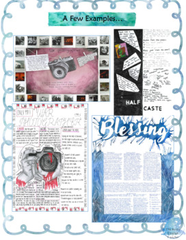 One Pager Poetry Activity