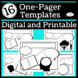 One Pager Templates